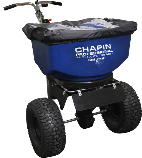 Chapin 100 lb Professional Wide Mouth Rock Salt Spreader